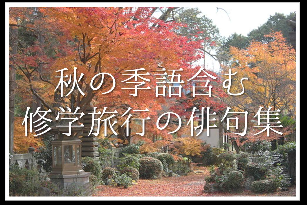 【修学旅行の俳句 20選】京都&奈良編!!秋の季語を含んだオススメ俳句作品集を紹介!