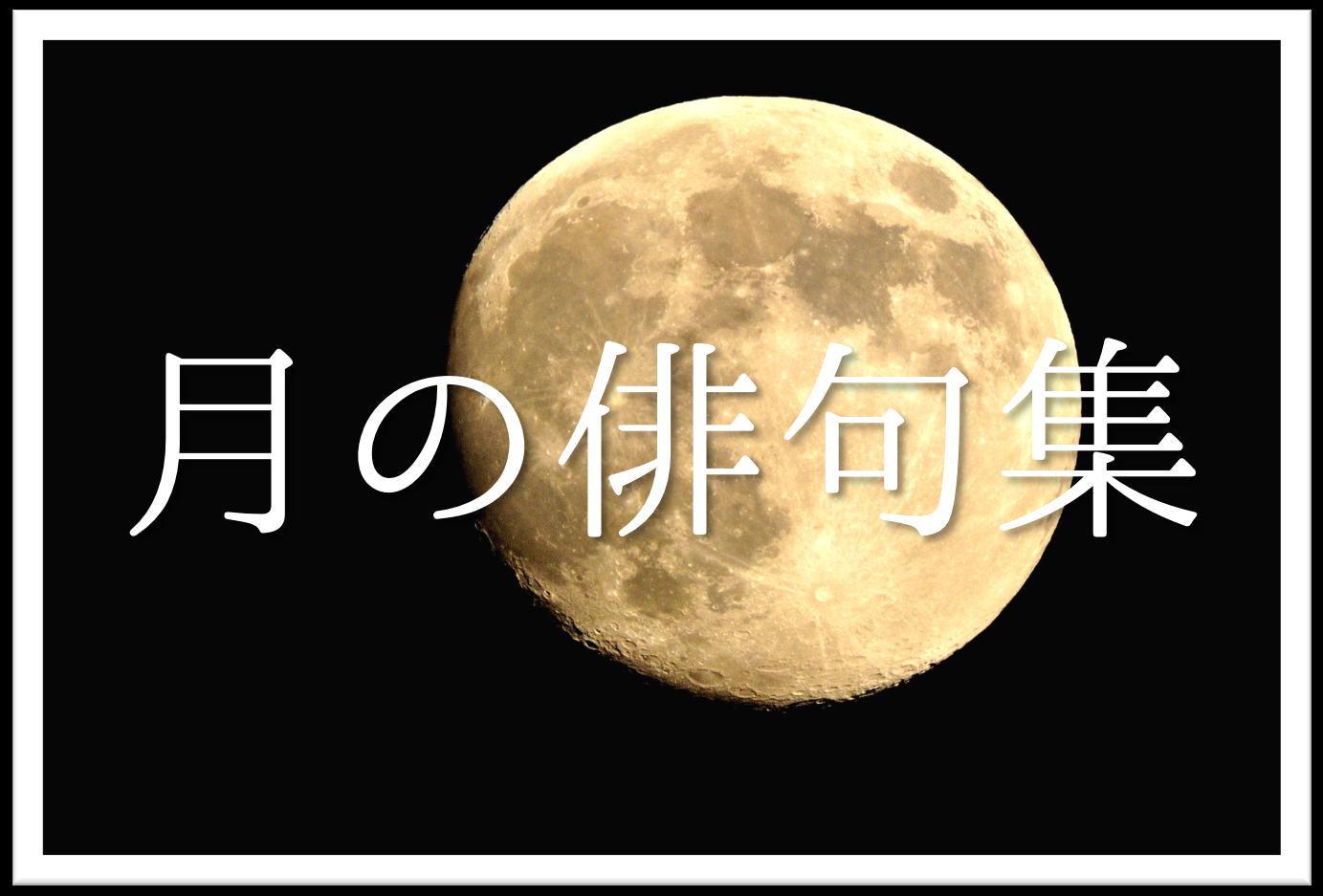 【月の俳句 30選】知っておきたい!!季語を含むおすすめ有名&素人俳句を紹介!